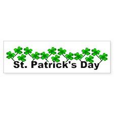 St Patrick's Day Bumper Bumper Sticker
