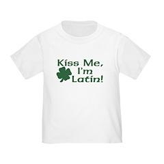 Kiss Me I'm Latin T