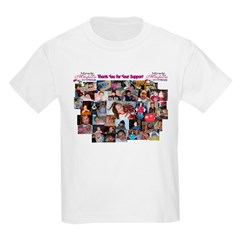 Angels At The End Zone Kids T-Shirt