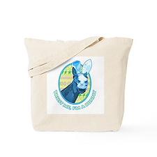 Easter horse Trust me, I'm a bunny Tote Bag