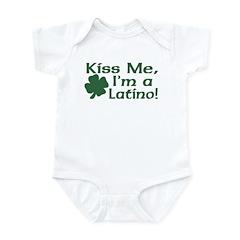 Kiss Me I'm a Latino Infant Bodysuit