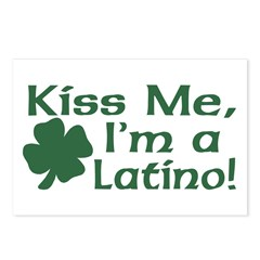 Kiss Me I'm a Latino Postcards (Package of 8)