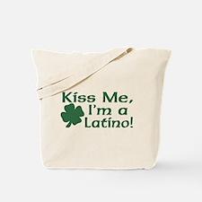 Kiss Me I'm a Latino Tote Bag