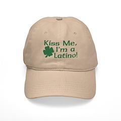 Kiss Me I'm a Latino Baseball Cap