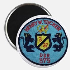 uss henry w. tucker ddr patch transparent Magnet