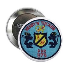 "uss henry w. tucker ddr patch transpa 2.25"" Button"