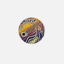 Happiness is My Ukulele Mini Button