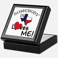 Somebody in Texas Loves Me Keepsake Box