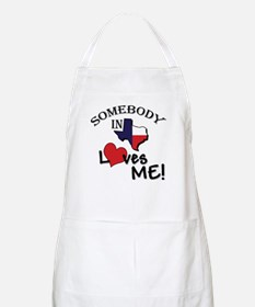 Somebody in Texas Loves Me BBQ Apron