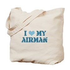 I ♥ my Airman Tote Bag