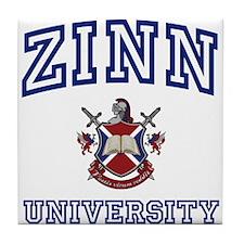 ZINN University Tile Coaster