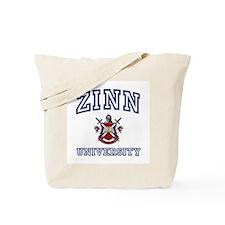 ZINN University Tote Bag