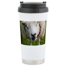 Old lady sheep Travel Mug
