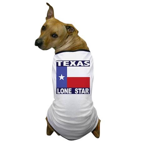 Texas Lone Star Dog T-Shirt