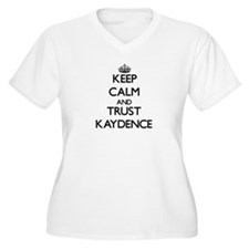 Keep Calm and trust Kaydence Plus Size T-Shirt