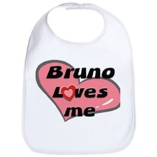 bruno loves me  Bib