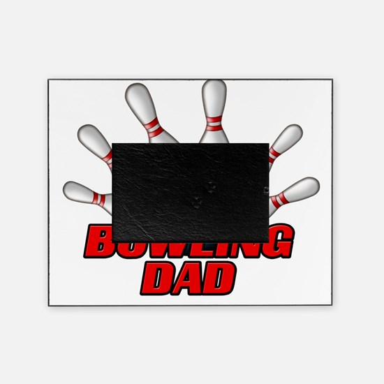 Bowling Dad (pins) Picture Frame