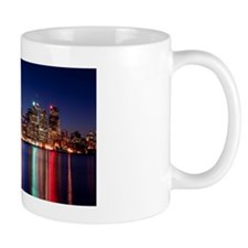 Skyline at night, Toronto Mug