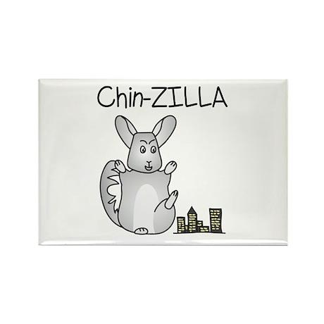 Chin-Zilla Magnets