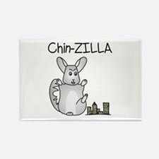 Chin-Zilla Magnets