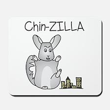 Chin-Zilla Mousepad