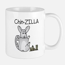 Chin-Zilla Mugs
