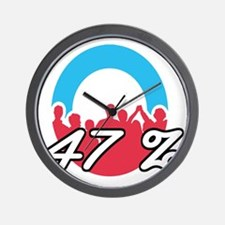 We are the 47 % Wall Clock