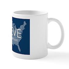Believe Romney Ryan Blue Mug