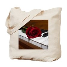 Rose on Paino. Tote Bag