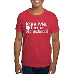 Kiss Me I'm a Leprechaun T-Shirt