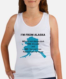 Im from Alaska Women's Tank Top