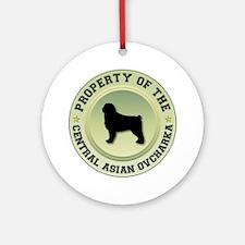 CAO Property Ornament (Round)