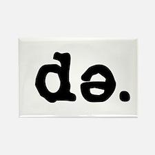 D-Schwa Rectangle Magnet