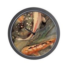 Murky Waters Wall Clock