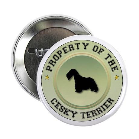 """Cesky Property 2.25"""" Button (10 pack)"""
