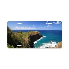 Kilauea Lighthouse, Kauai,  Aluminum License Plate