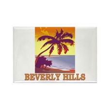 Unique Beverly hills california Rectangle Magnet