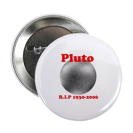 Pluto - Revolve in Peace Button