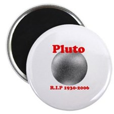 Pluto - Revolve in Peace Magnet