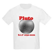 Pluto - Revolve in Peace Kids T-Shirt