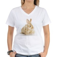 bunny with wig of golden ha Shirt