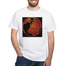 Globe showing Europe, North Afric Shirt