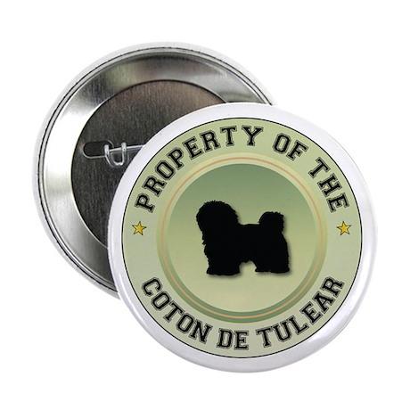 "Coton Property 2.25"" Button (100 pack)"