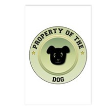 Dog Property Postcards (Package of 8)