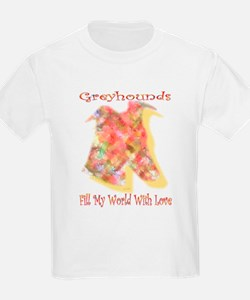 FILL MY WORLD WITH LOVE KIDS TEE