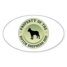 Shepherd Property Oval Bumper Stickers
