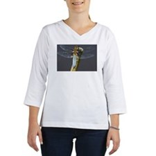 Broad-bodied chaser - Libellula Women's Long Sleeve Shirt (3/4 Sleeve)