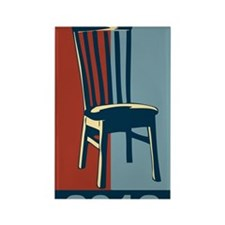 Eastwood And The Chair 2012 Elect Rectangle Magnet