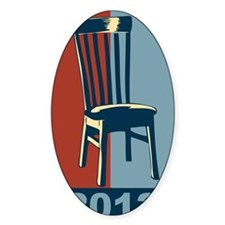 Eastwood And The Chair 2012 Electio Decal