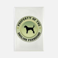 Foxhound Property Rectangle Magnet (10 pack)
